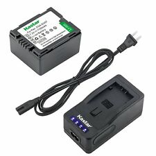 CGA-DU07 Battery or Super Fast Charger for Panasonic SDR-H18 H20 H28 H48 H68