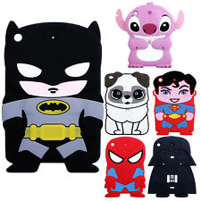 3D Cartoon Lovely Protective Soft Rubber Gel Skin Case Cover For iPad Mini 1 2 3