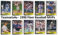 1990 Fleer Baseball MVP's Set ** Pick Your Team **