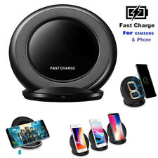 UGI 10W Qi Wireless Fast Charger Charging Stand Dock Pad For Samsung Note8 S8 S7