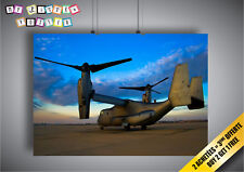 Poster Aircraft Boeing V-22 Osprey Helicopter Wall Art