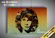 Poster JIM MORRISON DOORS COLLAGE COLLECTOR Wall Art