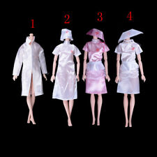 Doctor Clothes Dress Outfit For Barbie Doll Handmade Chirstmas Gift Oa