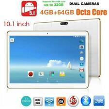 10.1 inch Wifi Octa Core 4G+64G Android 5.1 Dual Sim Phone Pad Tablet PC 3G WCDM