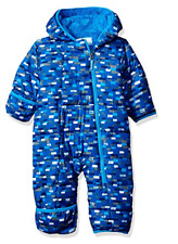 COLUMBIA BOYS 18/24 18-24 FROSTY FREEZE BUNTING SNOWSUIT INSULATED WARM!!