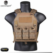 EMERSON Tactical Vest Plate Carrier Body Armor 419 Military Wargame Airsoft