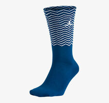 Nike Jordan Jumpman Air Jordan Retro Socks Blue Silver Sz 6-8 Medium