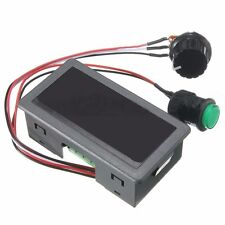 DC 6-30V 12V 24V MAX 8A Motor PWM Speed Controller With Didital Display Switch Z