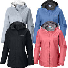 "New Womens Columbia ""Arcadia II"" Omni-Tech Waterproof Rain Jacket Plus Size"
