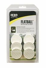 IZZO Golf Flatball Swing Training Aid Trainers Aids Sporting Goods