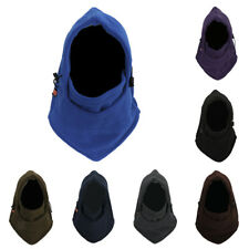 Men Ladies Full Face Mask Fleece Cap Balaclava Neck Warmer Hood Winter Ski