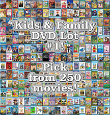 Kids & Family DVD Lot #1: DISC ONLY - Pick Items to Bundle and Save!
