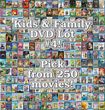 Kids & Family DVD Lot #4: DISC ONLY - Pick Items to Bundle and Save!