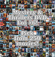 Mystery & Thrillers DVD Lot #6: DISC ONLY - Pick Items to Bundle and Save!