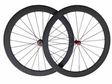 Powerway R36 Hubs 50mm Tubular Carbon Wheels 3k Straight Pull Road Bike Wheelset
