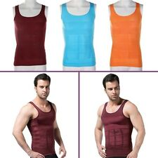 Men's Slimming Vest Top Slim Shirt Chest Belly Control Body Shapers S-XXL  VC