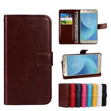 Luxury Flip Leather Cover Wallet Card Mobile Phone Bag Case For IPhone 7 Samsung