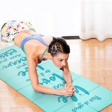 Yoga Mat Pilates Exercise Thick Non Slip Fitness Extra Pad X Gym Workout Cushion