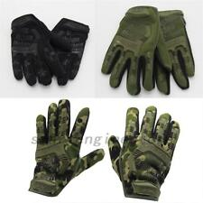 Top Outdoor Sports Full finger Military Tactical Airsoft Hunting Cycling Gloves