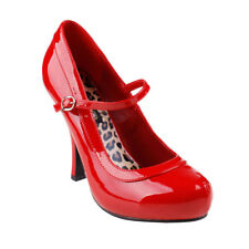 Funtasma Halloween Costume Shoes Women High Heel Adjustable Strap Mary Jane Pump