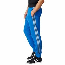 Adidas Men Pants XL & XXL Essential Tapered Performance Jogging Pant BLUE NWT