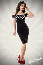 Pin-up Vintage Dress 50er Party Dress vintage-pencilkleid Strapless Dots XS-XL