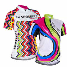 Womens Cycling Bike Jersey Cycle Sports Wear UV Protection Bicycle Tops Clothing
