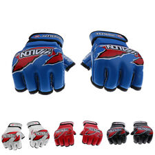 MagiDeal Boxing Gloves Training Sparring Gloves PU MMA Muay Thai Fighting Mitts
