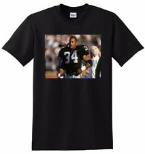 BO JACKSON T SHIRT oakland raiders photo poster tee SMALL MEDIUM LARGE or XL