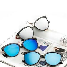 Classic Vintage Retro Men Women Cat Eye Sunglasses Brand Designer Eyewear Silver