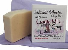 3 x Goats Milk Soaps - All Natural - made in Australia - NO Palm Oil.