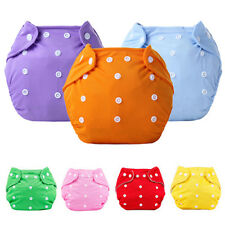 Washable Baby Infant Pocket Nappy Dotted Cloth Reusable Diaper Adjustable Sweet