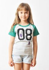 College Raglan Short Sleeve (Numbering Shadow Monster)(Kids)