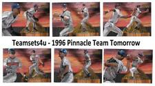 1996 Pinnacle Team Tomorrow Baseball Set ** Pick Your Team **