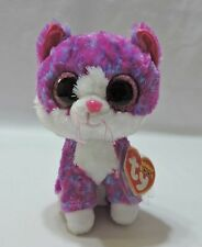 """Ty Beanie Boos Charlotte Kitty Cat 6"""" Plush Claire's Exclusive"""