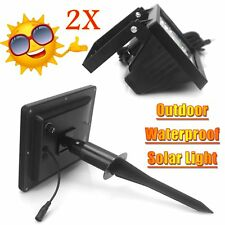 Ultra Bright Solar 30LED Outdoor Garden Spot Flood Light Lawn Lamp Waterproof