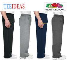 Fruit of the Loom Adult  SofSpun Open-Bottom Pocket Sweatpants-SF74R
