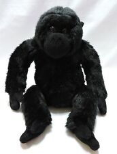 Gorilla Monkey Black Plush Stuffed Animal Alley Toy Soft Cute Ape 14""