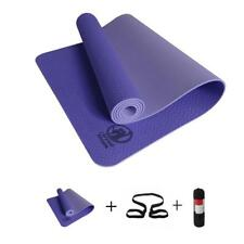 Yoga Mat Non Slip Pilates Exercise Thick Fitness Extra Pad X Gym Workout Cushion