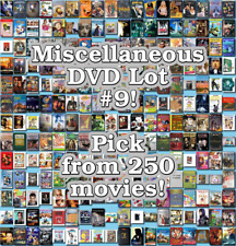 Miscellaneous DVD Lot #9: DISC ONLY - Pick Items to Bundle and Save!