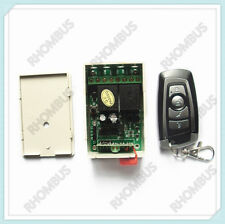 Wireless Remote Control Switch System 12V 2CH Transmitter&Receiver Access 315MHz