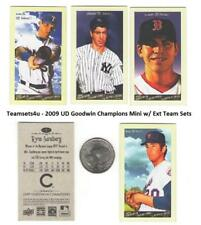 2009 Upper Deck Goodwin Champions Mini w/ Extended Set ** Pick your Team **