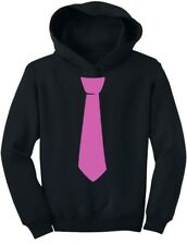Children's Printed Pink Tie Cute Tuxedo Funny Toddler Hoodie Cool Gift