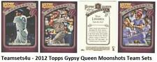 2012 Topps Gypsy Queen Moonshots Baseball Set ** Pick Your Team **