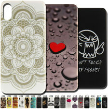 TPU Soft Skin Cover Various Fashion Silicone Back Cute Case For Apple iPhone X