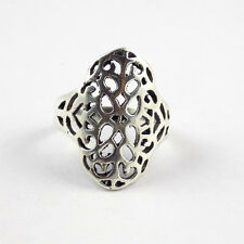 1 Pcs Beautiful Floral Design 925 Sterling Silver High Polished Awesome Ring