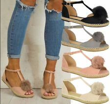 Summer Womens Ladies Flat Casual Sandals Outdoor Ankle Strap Open Toe Shoes