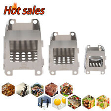 S/M/L Stove Backpacking Camping Outdoor Portable Wood Burning Outdoor Wood Stove