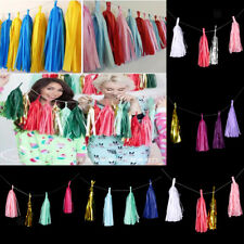 MagiDeal Tissue Paper Tassel Hanging Garland Bunting Wedding Party Home Decor
