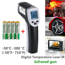 Non-Contact IR Infrared Laser Digital Temperature Thermometer Gun -50℃ ~ 380℃ RT